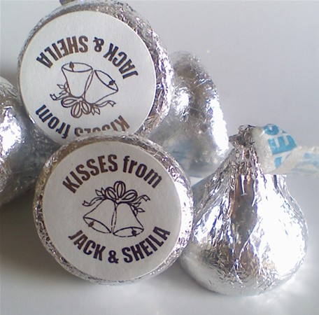 Hershey Kisses Stickers - Candy Bar Wrappers - Chocolate Bar ...
